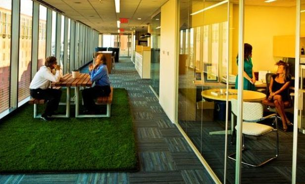 'Hometainment' Design Concept Enters Law Firm Office Space