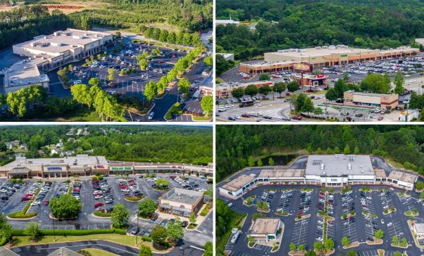 A retail portfolio of three Publix-anchored shopping centers and one Planet Fitness-anchored shopping center totaling 307,500 square feet in metro Atlanta, has traded  hands.