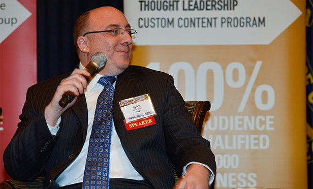 José Cruz of HFF at RealShare Philadelphia 2016 (William Neumann photo)