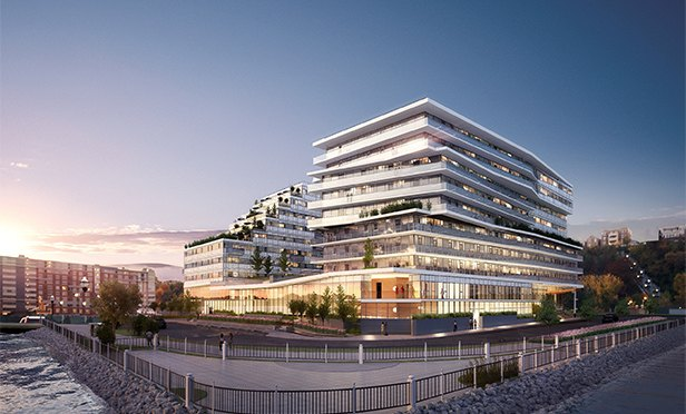 Rendering of Avora Waterfront, Weehawken, NJ