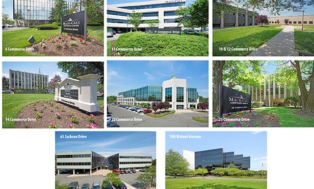 "Buildings in the Mack-Cali ""Commerce Portfolio,"" in Clark and Cranford, NJ"