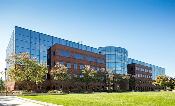51 JFK Parkway, Short Hills, NJ, one of the six office buildings Mack-Cali acquired from RXR Realty.