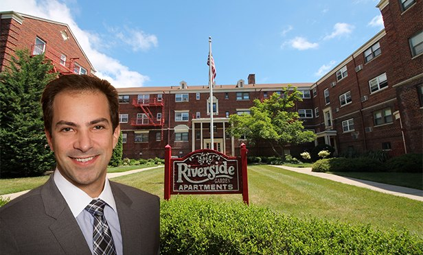 Jeffrey Squires, senior vice president, The Kislak Company, and Riverside Garden Apartments, Cranford, NJ