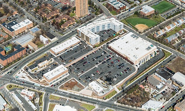 2017 Aerial view of Springfield Avenue Marketplace, Newark, NJ