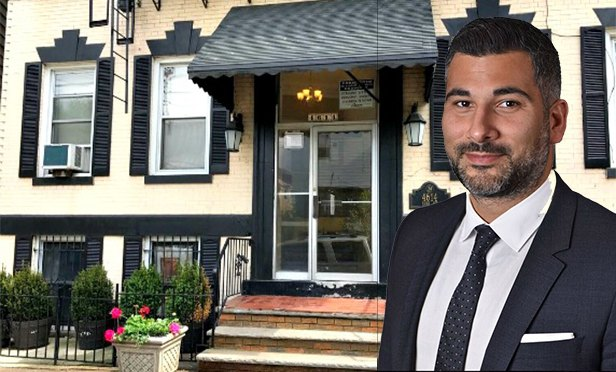 4614-16 Park Ave., Weehawken, and Gebroe-Hammer senior vice president Nicholas Nicolaou