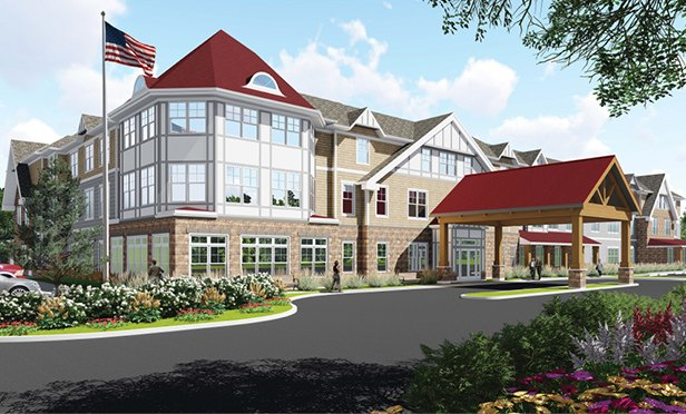 Rendering of Chelsea Senior Living of Shrewsbury, 515 Shrewsbury Rd., Shrewsbury, NJ