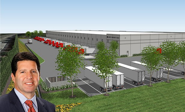 Charles Fern, executive managing director, Cushman & Wakefield, and rendering of 1075 KIng George Post Road, Edison, NJ