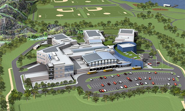 Rendering of High Tech High School, Secaucus, NJ