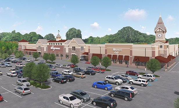 Rendering of The Shoppes at Middletown, a planned 340,000 square-foot experiential retail development planned for Route 35 in Middletown, NJ