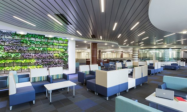 Rendering of Media Center at Essex County College, Newark, NJ