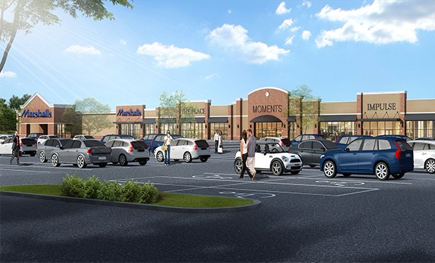 Rendering of The Shops at Ledgewood Commons, Roxbury Twp., NJ