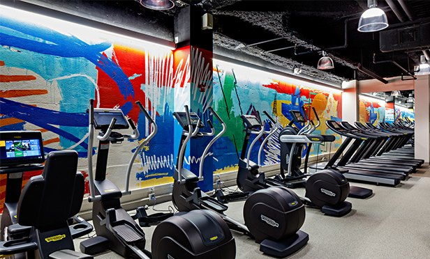 Fitness center at 9, Campus Drive, Parsippany, NJ (Ben Gancsos photo)