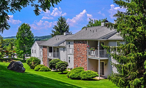 One of the multifamily properties in the portfolio sold by Equus Capital Partners in Pennsylvania