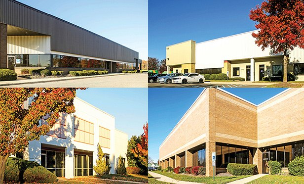 Four of the buildings in Mack-Cali's Moorestown/Burlington portfolio sold to Brennan Investment Group
