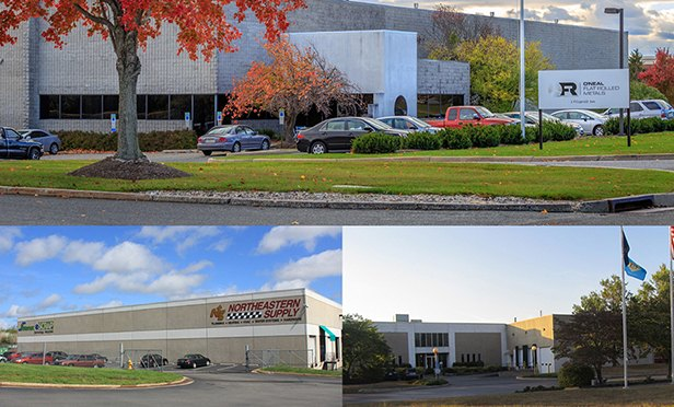 Burton Real Estate's three-property industrial portfolio from New Jersey and Virginia.