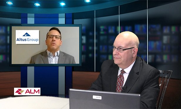 Altus Group's Charles DiRocco, director of research, is interviewed by NJ edtior Steve Lubetkin on GlobeStreet TV