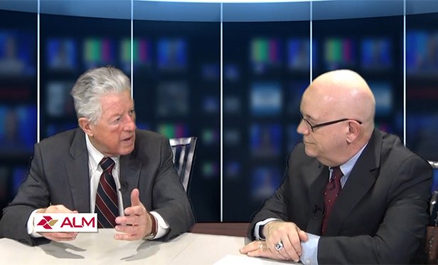 Former NJ Gov. James J. Florio in TV interview with Steve Lubetkin, GlobeSt.com NJ correspondent