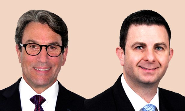 Robert Rudin, vice chairman, and Jason Price, tri-state suburbs research director of Cushman & Wakefield