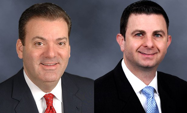 Andrew Judd, left, and Jason Price, of Cushman & Wakefield