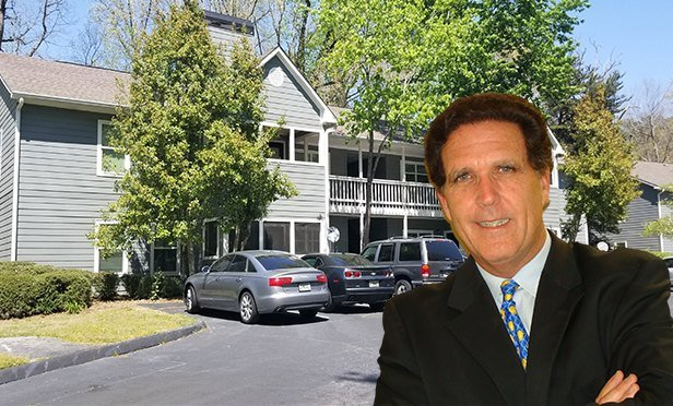 Lakeview Trails, College Park, GA, with Reuven Oded, managing partner, Blue Magma Residential (Photo composite)