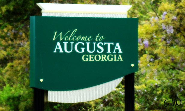 Welcome to Augusta, GA (Photo by Stacie Wells, via Flicker under Creative Commons 2.0 license)