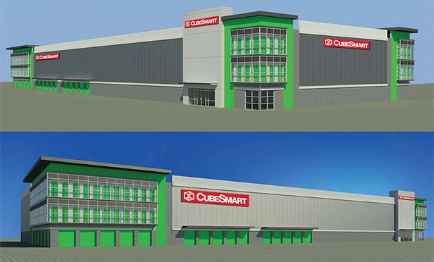 Renderings of new CubeSmart planned for 10 Kingsland Street, Nutley, NJ
