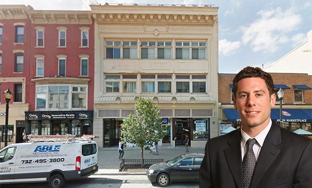 222 Washington St., Hoboken, NJ, with Scott Davidovic, senior vice president, The Kislak Company (Photo composite)
