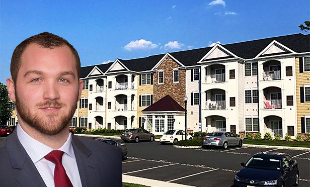 Justin Lupo, sales associate, The Kislak Company, with Montage at Hamilton, Hamilton Township, Mercer County, NJ (Photo composite)