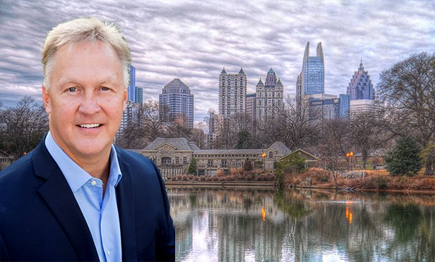 Keith Hurand, Atlanta Division president , Century Communities (Photo composite, Atlanta Skyline by B K, via Flickr.com, Creative Commons 2.0 license)
