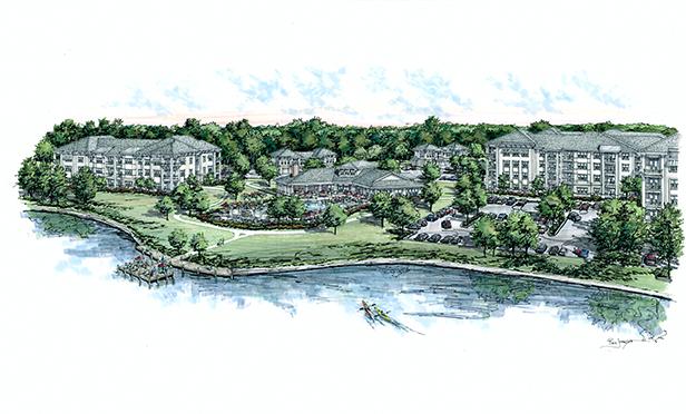 Rendering of Mosby Lakeside, Pooler, GA