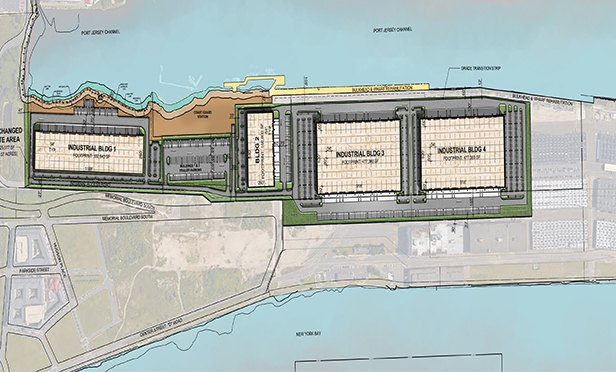Bayonne Logistics Center layout