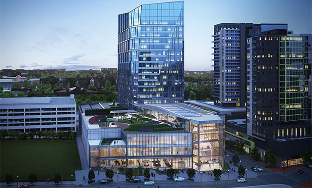 NCR Corporation Headquarters, Spring at 8th, Atlanta, GA