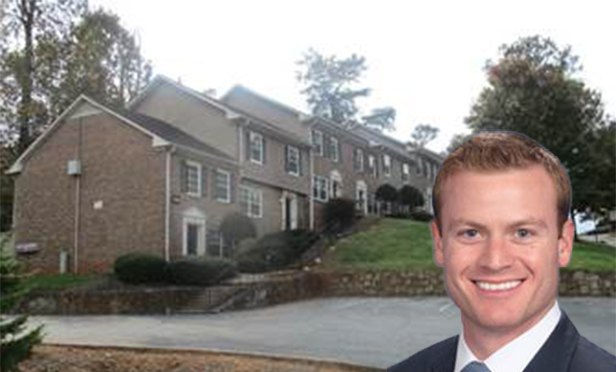 Parkside at Camp Creek Apartments, East Point, GA, with Ryan Duff, vice president, Arbor Realty Trust (Photo Illustration)