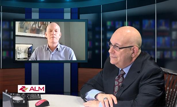 Michael Novak, president of Atlantic Environmental Solutions, Hoboken, NJ, in TV interview with GlobeSt.com's Steve Lubetkin