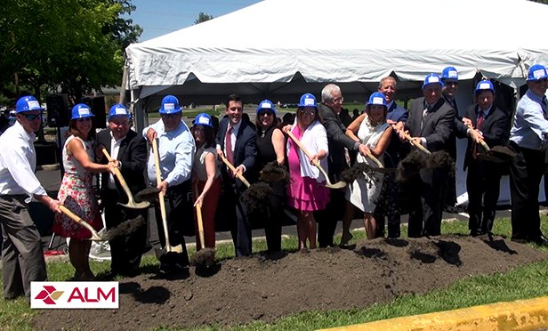 Shovel ceremony to start construction of The Commons at Springdale, Cherry Hill, NJ, a senior and developmentally disabled adult residential community sponsored by the Jewish Federation of Southern New Jersey