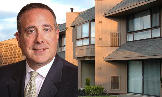 Matt Weilheimer, Kislak Company senior vice president, with Stonington Court Apartments, Lindenwold, NJ (Photo composite)