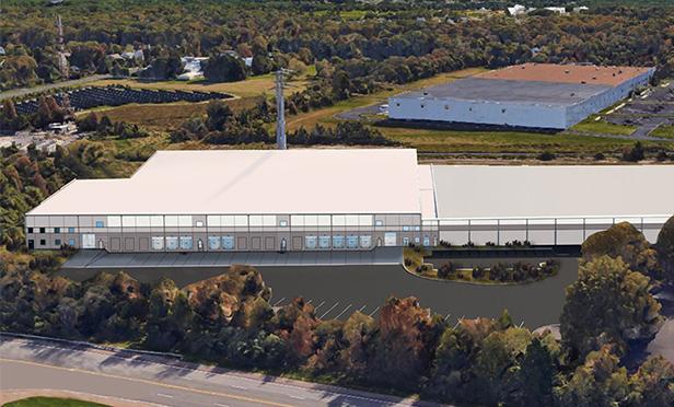 Rendering showing expansion of 301 Grove Rd., West Deptford, NJ