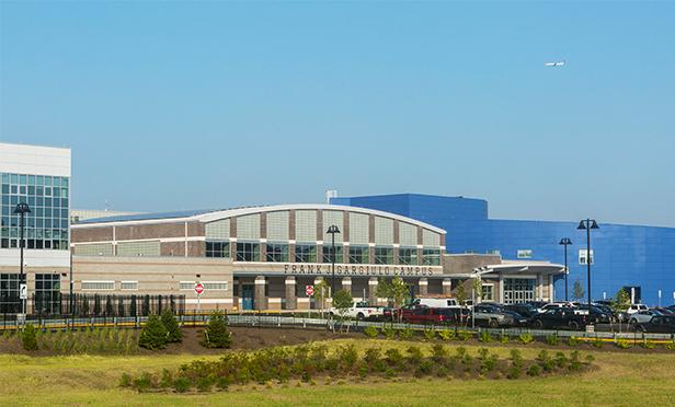 The Frank J. Gargiulo Campus of HCST, One High Tech Way at Laurel Hill Park, Secaucus, NJ (Kate Glicksman photo)