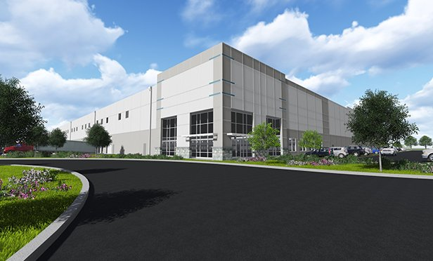 Rendering of Brodhead Road industrial facility, Bethlehem, PA
