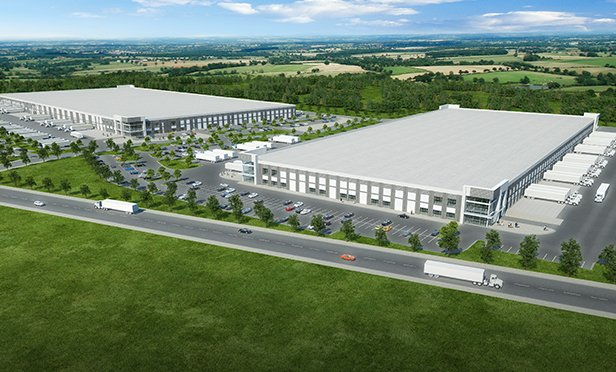 Rendering of Bright Star Logistics Center, Douglasville, GA