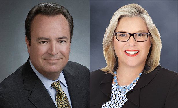 Robert LaChappelle, left, and Ann Cone, of CBRE, arranged the financing package