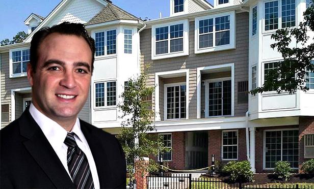 Gebroe-Hammer Associates' Adam Zweibel with Netherwood Pointe, Plainfield, NJ (Photo composite)