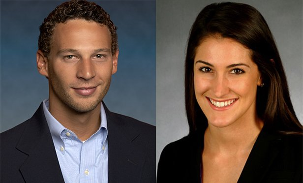 Christian Beaudoin, left, managing director, research & strategy; and Hailey Harrington, research manager, Chicago, Jones Lang LaSalle