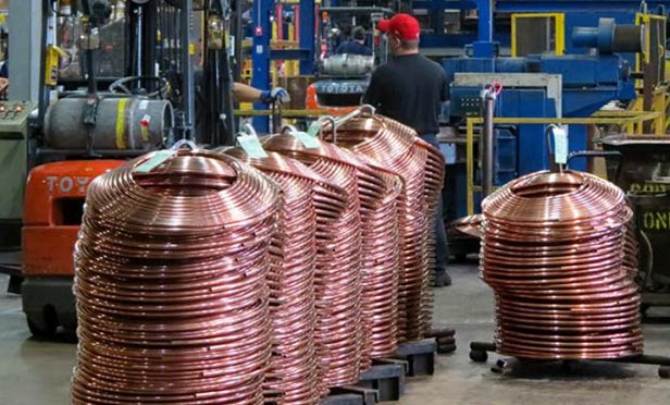 Copper tube manufacturing facility, Reading, PA