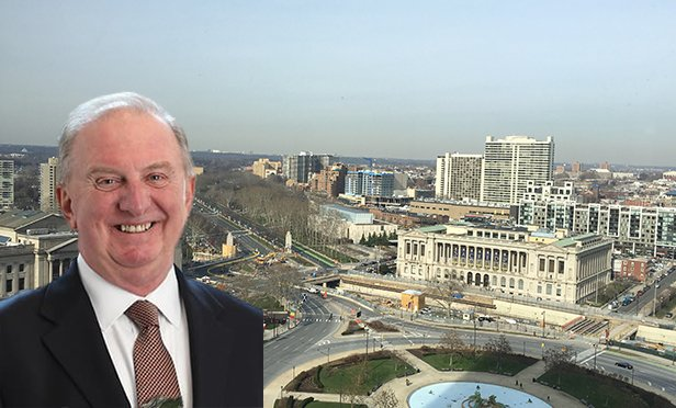 Bill Hankowsky, chairman and chief executive officer of Liberty Property Trust (Photo composite)