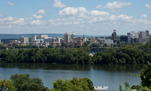 Harrisburg, PA in 2015 file photo; Steelton is four miles southeast of Harrisburg (Gov. Tom Wolf/Flickr.com)