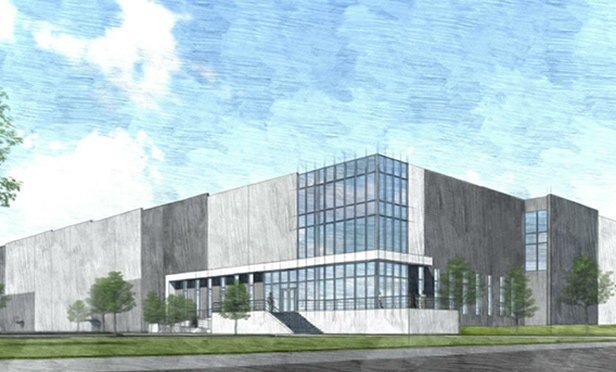 Rendering of Valley View Trade Center, planned for Jessup, PA