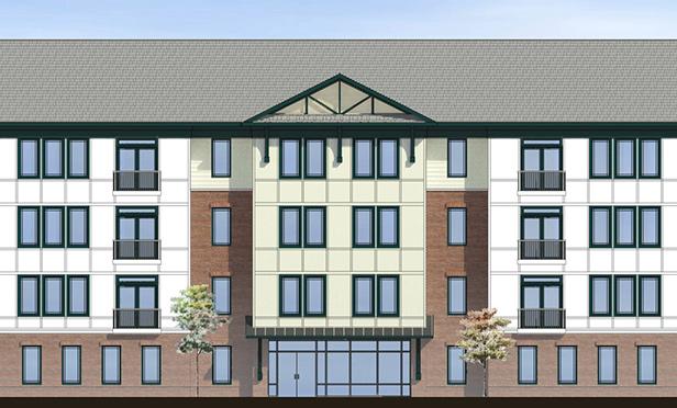 Rendering of Dunellen Station multifamily development, 100 South Washington Avenue, Dunellen, NJ