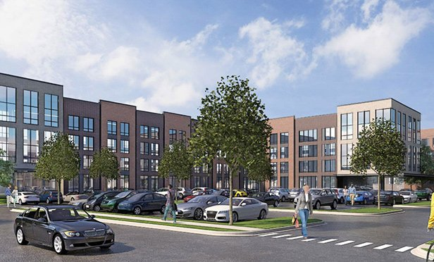 Rendering of Ogden Commons, Habitat Company's $200 million mixed-use project spanning 10 acres in Chicago's North Lawndale neighborhood