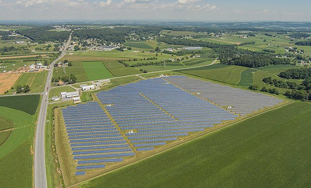 Keystone Solar Farm, Lancaster, PA, operated by Community Energy Solar, which will build a new solar farm in Adams County, PA, to generate energy for the City of Philadelphia